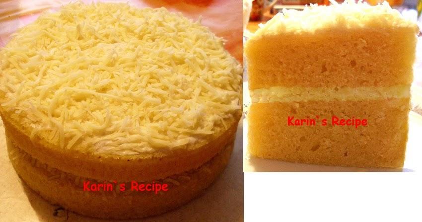 Resep Cake Kukus Keju Ncc: Karin's Recipe: Cake Keju Kukus (Steamed Layer Cheese