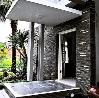 model teras batu alam terbaru
