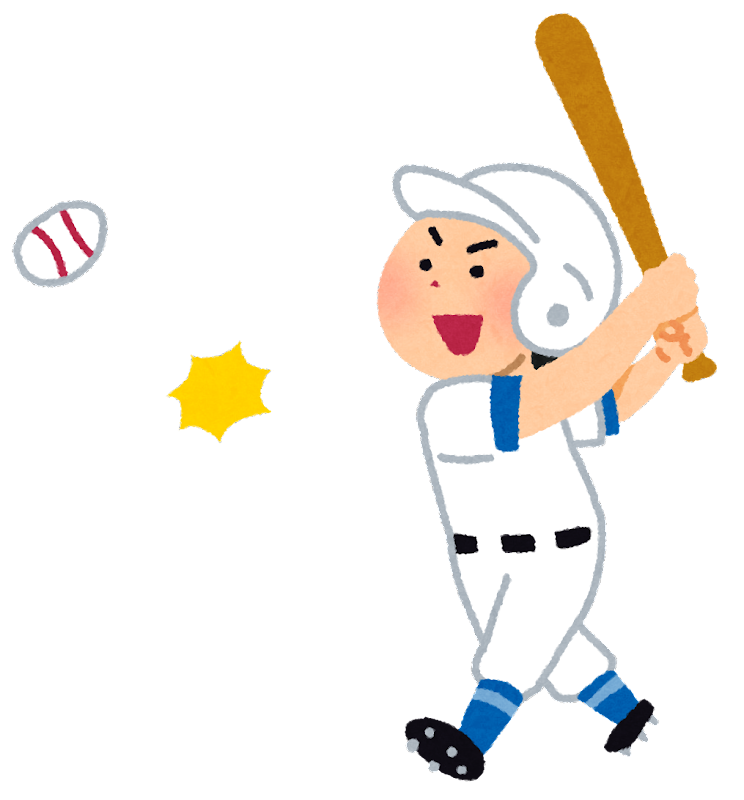 「フリー素材イラスト野球」の画像検索結果
