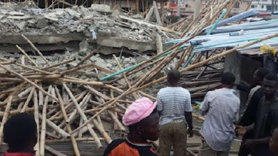 Lekki Building Collapse: Ambode sacks MD of Building Control Agency, 3 others