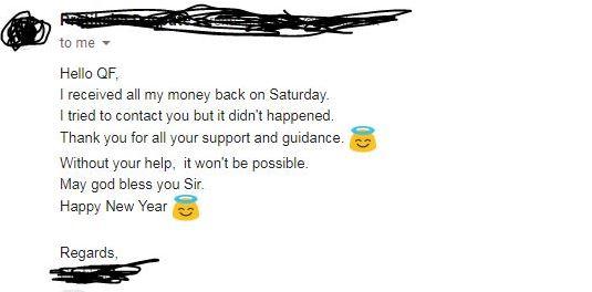 QNET REFUND Helpline : Few refund good news