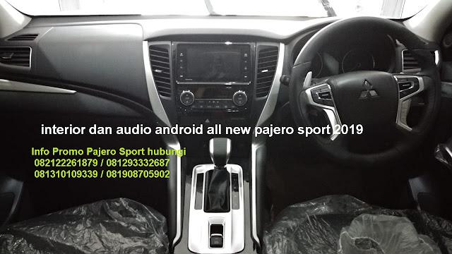 audio mitsubishi pajero sport 2019