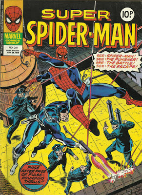 Super Spider-Man #281, the Punisher
