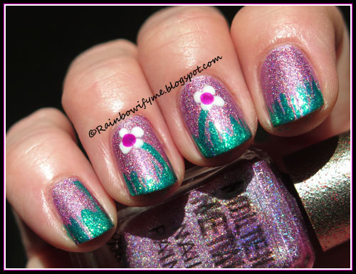 Barry M Molten Metal ~ Holographic Rocket