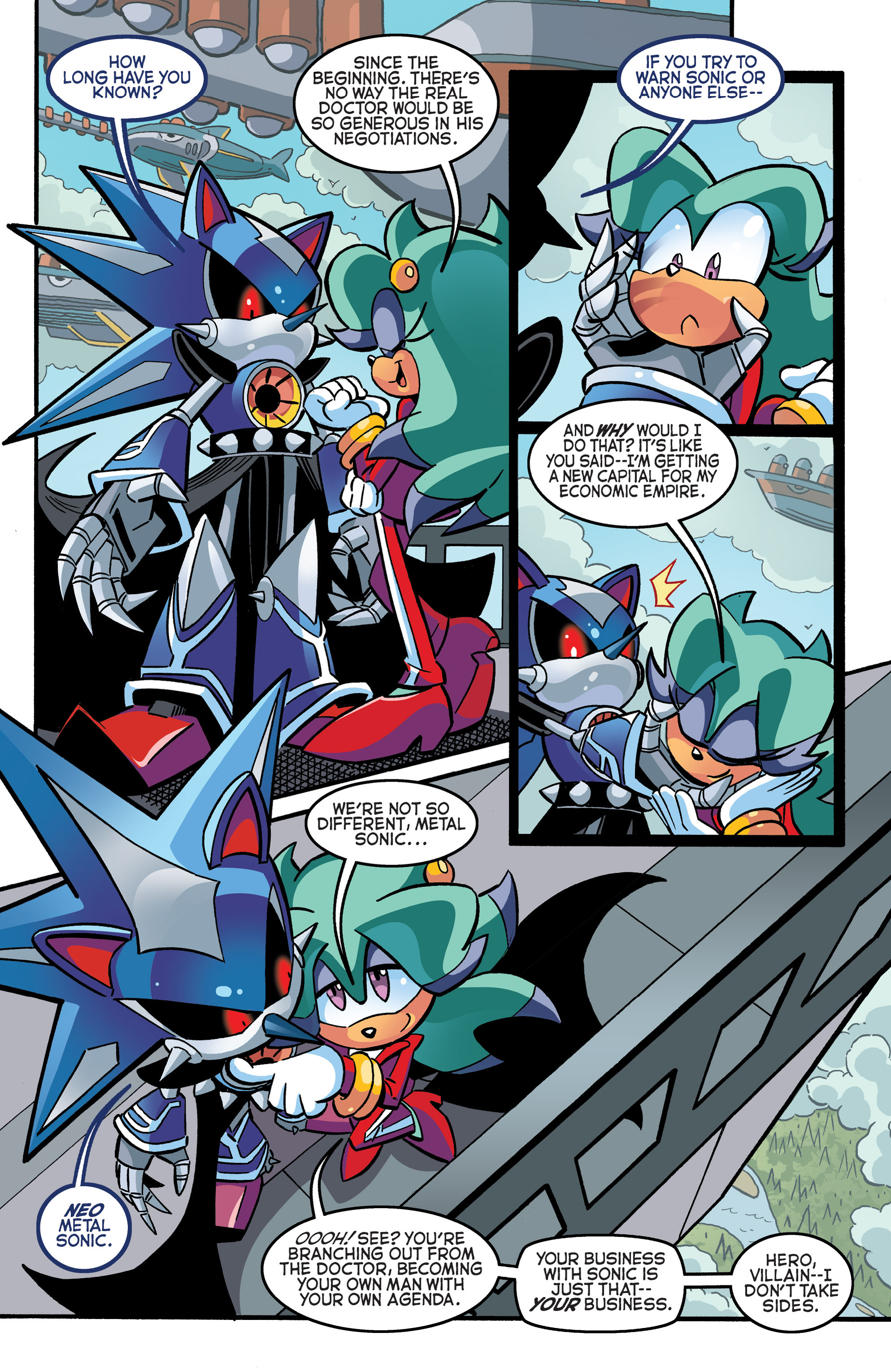 Read online Sonic The Hedgehog comic -  Issue #270 - 4