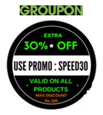 Groupon: Get 30% Extra Off on All Products + Extra 1% Off using PayuMoney