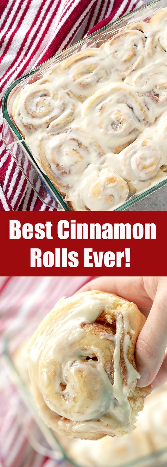 The Best Homemade Cinnamon Rolls Ever!