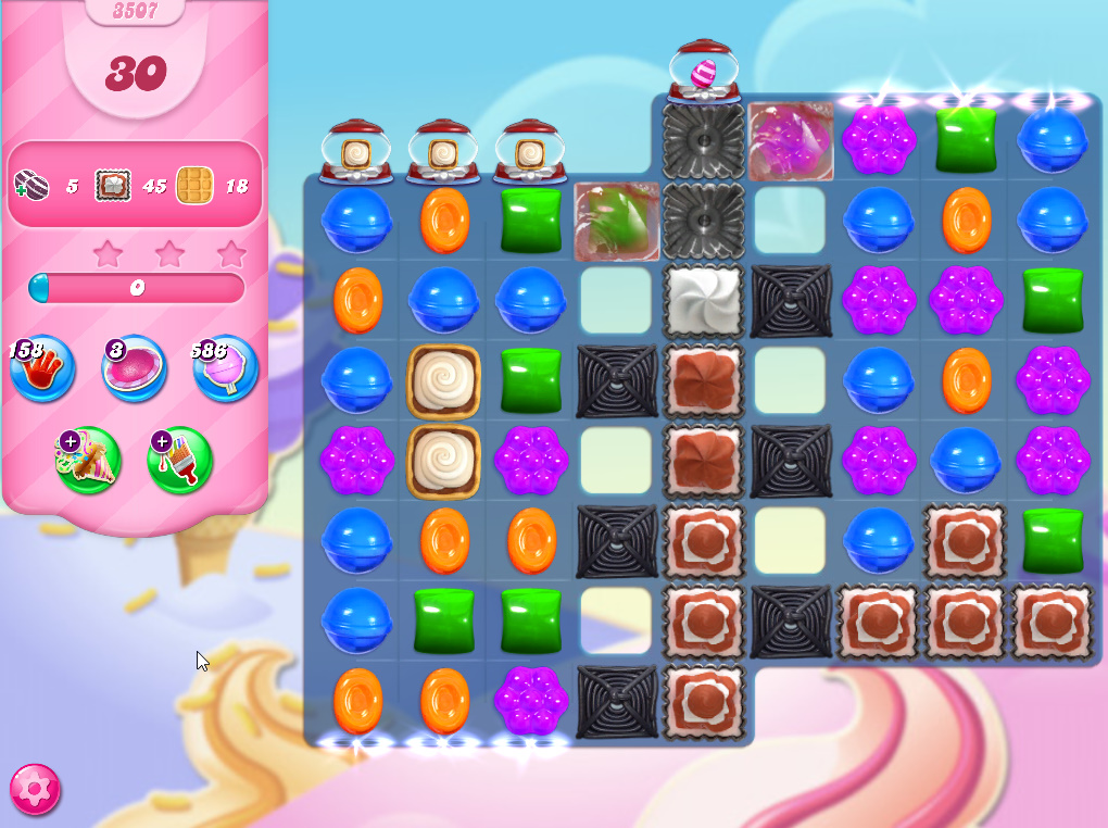 Candy Crush Saga level 3507