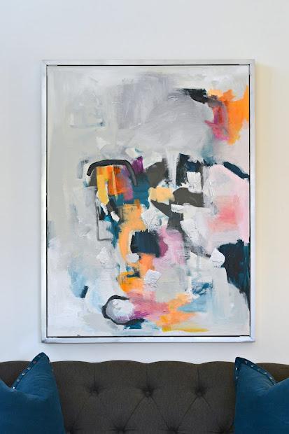 Diy Abstract Wall Art Livelovediy