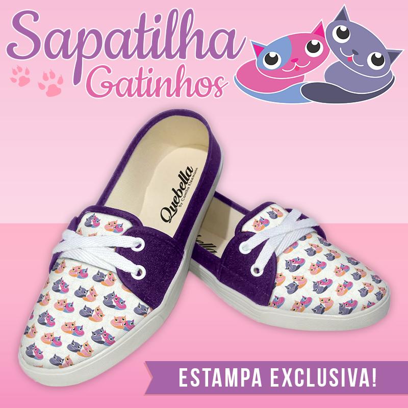 Compre uma sapatilha de gatinhos e ajude os animais!