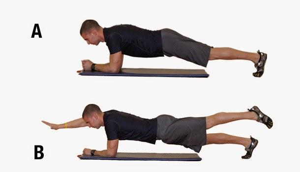 8 Macam Gerakan Plank untuk Mengecilkan Perut