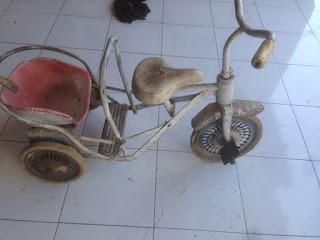 Dijual Sepeda Anak Antik Roda Tiga Jadoel