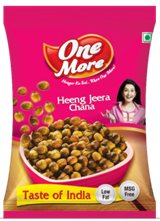 One more snacks Heeng Jeera Chana