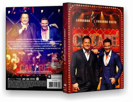 CAPA DVD – Leonardo & Eduar do Costa Cabaré DVD-R