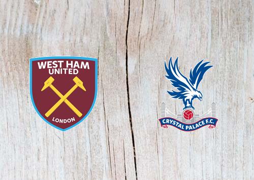 West Ham vs Crystal Palace - Highlights 08 December 2018