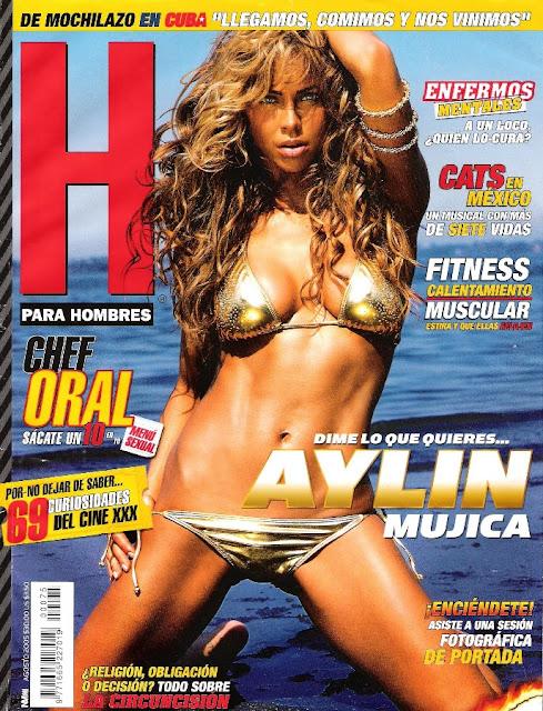 Aylin Mujica Revista H Agosto 2005 [FOTOS]-solorevistah.com