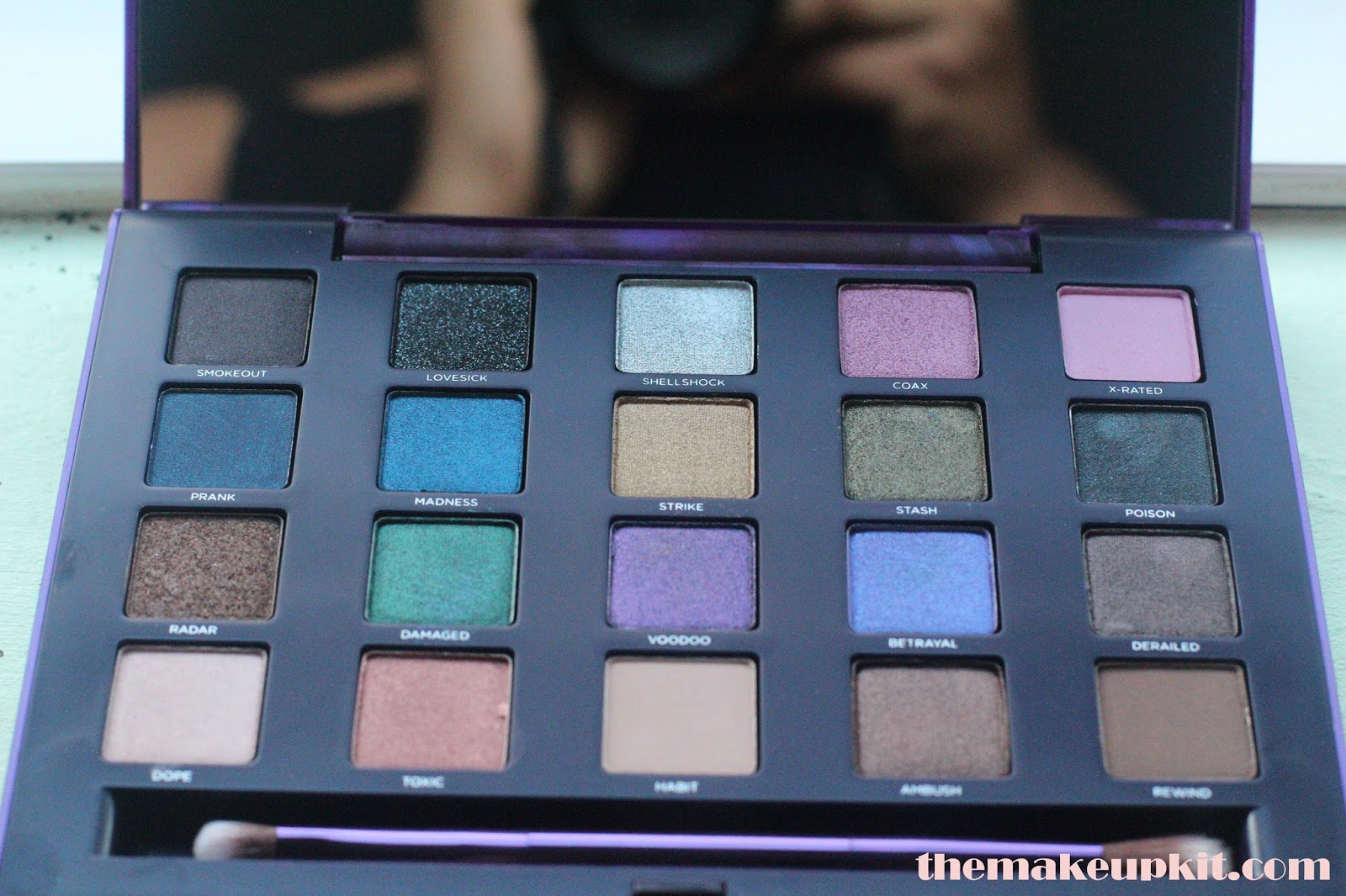 Urban Decay Vice 2 Palette Eyeshadows