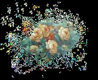 scrap flores rosas
