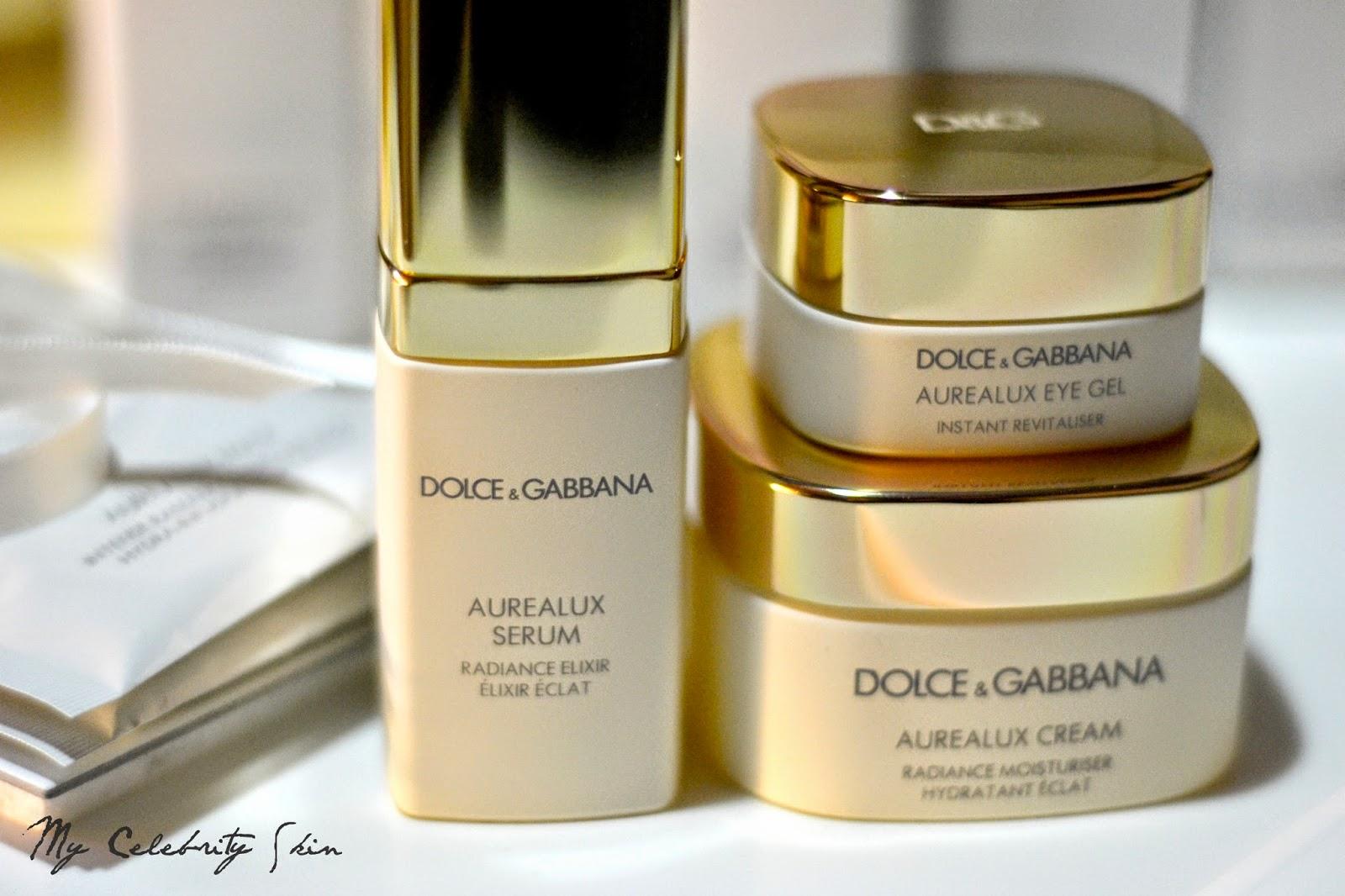 b49d6c8ec9 Las dos líneas de cuidado facial de Dolce&Gabbana han llegado a España en  octubre y se podrán adquirir en los puntos de venta habituales de la firma,  ...