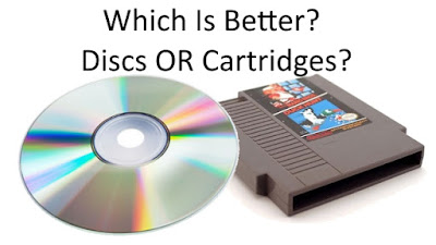 Which Is Better? Discs OR Cartridges? video games