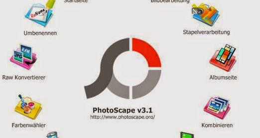 โปรแกรมแต่งรูปภาพ PhotoScape
