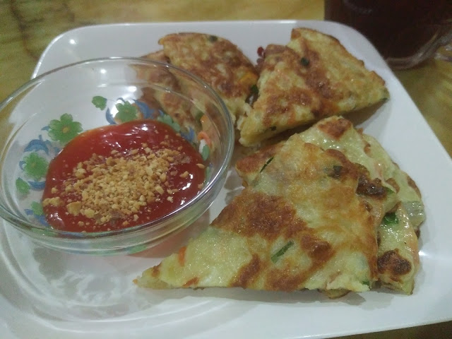korean spicy pancake