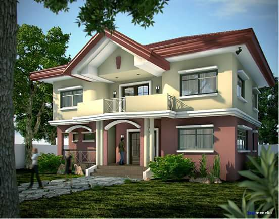 Two%2BStory%2BHouse%2BDesign%2Bin%2Bthe%2BPhilippines%2B%25284%2529 - 29+ Two Story Small House Design In Philippines  PNG