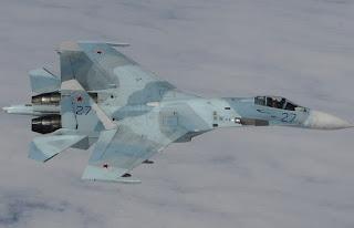 Jet Tempur Su-27 Rusia