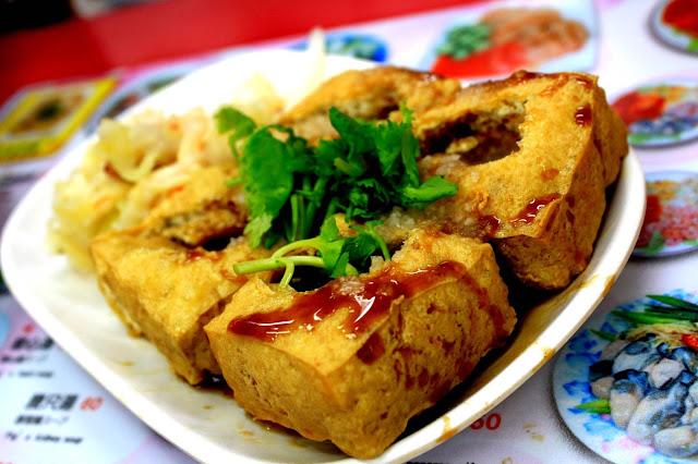 món ngon đậu hũ thối tại Đài Loan