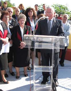 Ομιλία από τον Υποστράτηγο ε.α. Σπυρίδωνα Δελλή, στα αποκαλυπτήρια της προτομής του Νικόλαου Τσιγκαρόπουλου στην Τ.Κ. Ελάφου