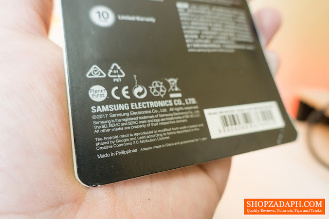 samsung sd card made in philippines
