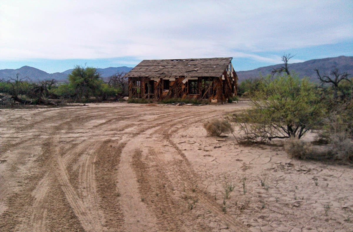 Shack in Mesquite Bosque