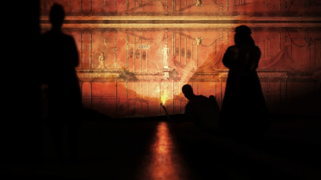 Emperor Nero's Golden Palace comes to life in virtual reality 3D