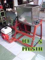 mesin mixer terasi, mesin terasi, mesin pengolahan terasi