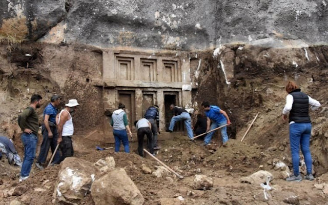 Lycian tomb discovered in Turkey's Antalya