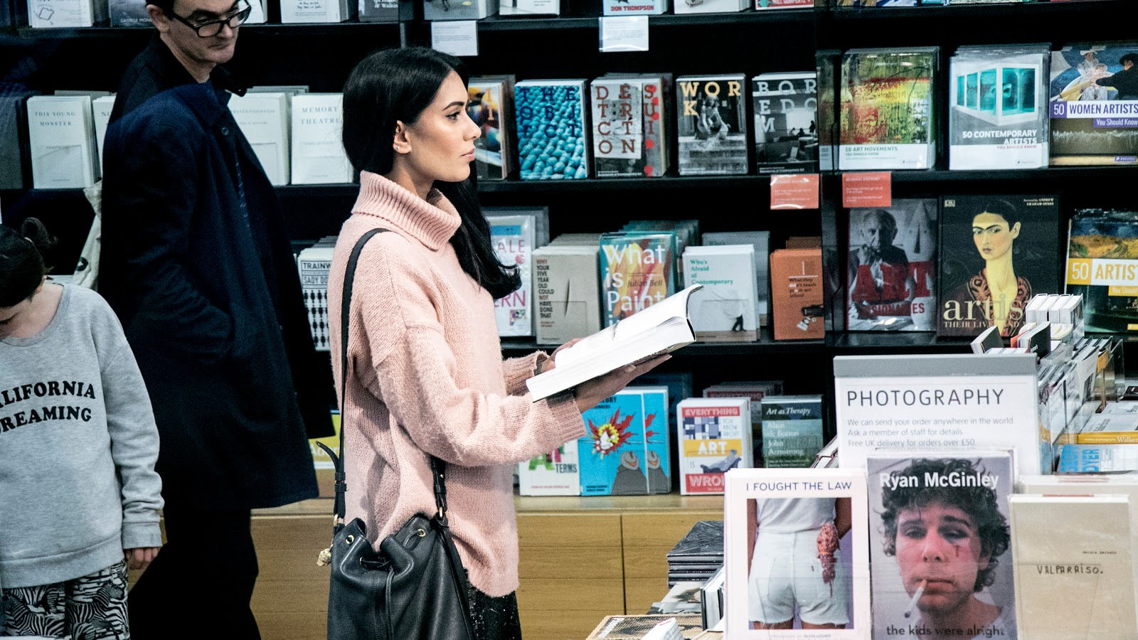 London blogger Reena Rai shot at the Tate Modern