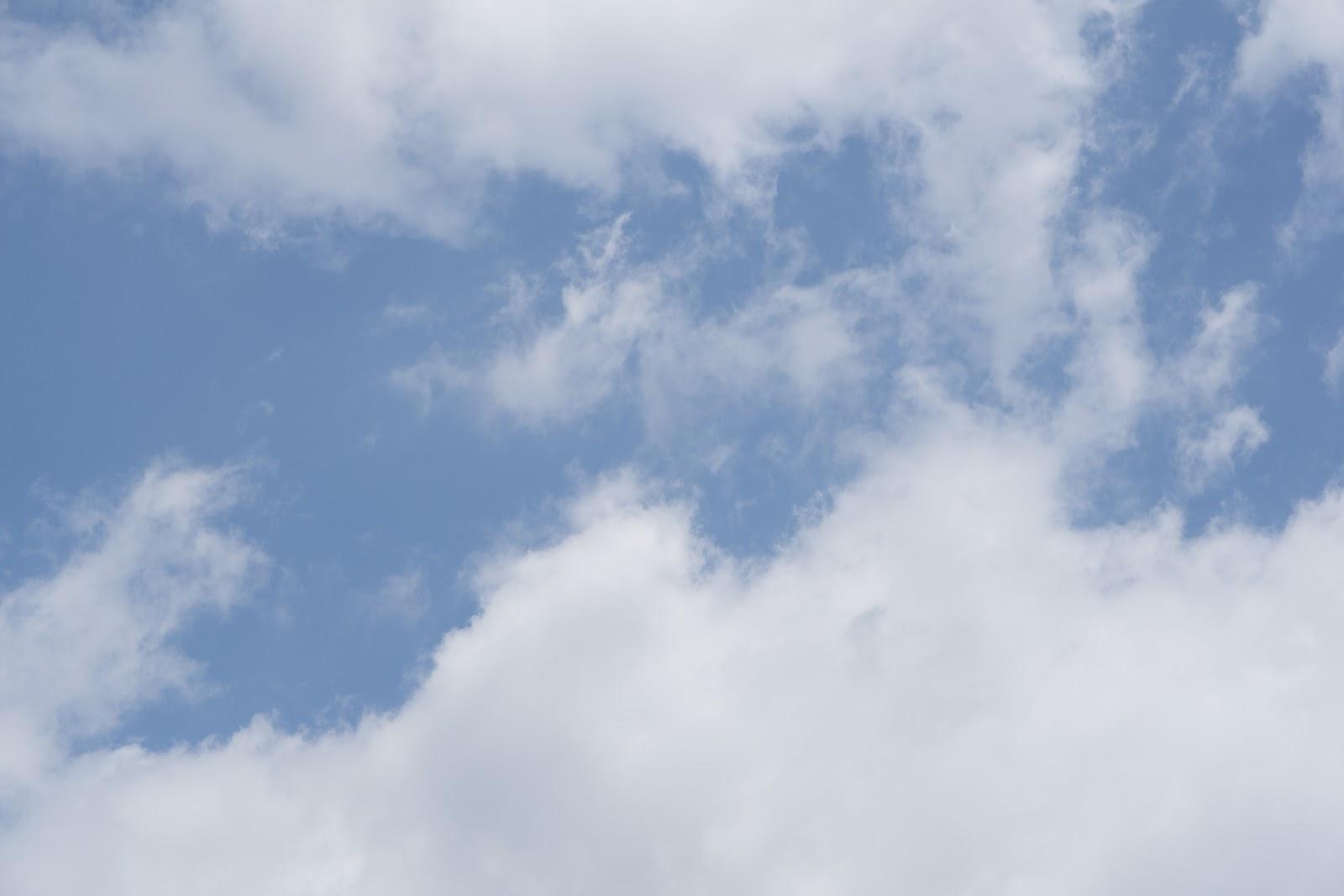 真っ青な初夏の空