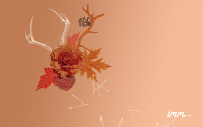 How About Orange Quirky Fall Wallpaper Freebies