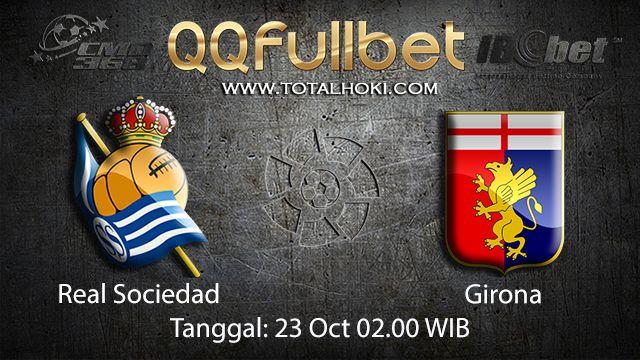 Prediksi Bola Jitu Real Sociedad vs Girona 23 September 2018 ( Spanish La Liga )