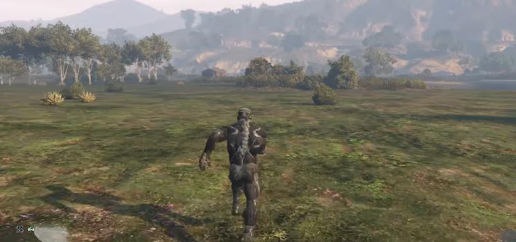 El nanotraje de Crysis llega a GTA V gracias a un mod, ¿cruce de mundos?