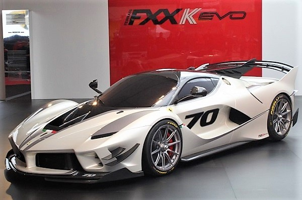 Ferrari FXX-K Evo Luis Pérez Companc