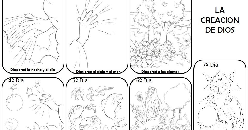 Magnífico Creación Para Colorear Páginas Día 7 Molde - Dibujos Para ...