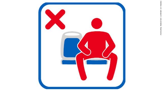 Γιατι στην Μαδρίτη απαγορεύει στους άνδρες να κάθονται στα λεωφορεία με ανοιχτά τα πόδια;