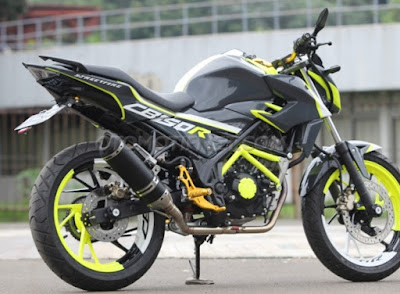 Modifikasi All New Honda CB150R StreetFire
