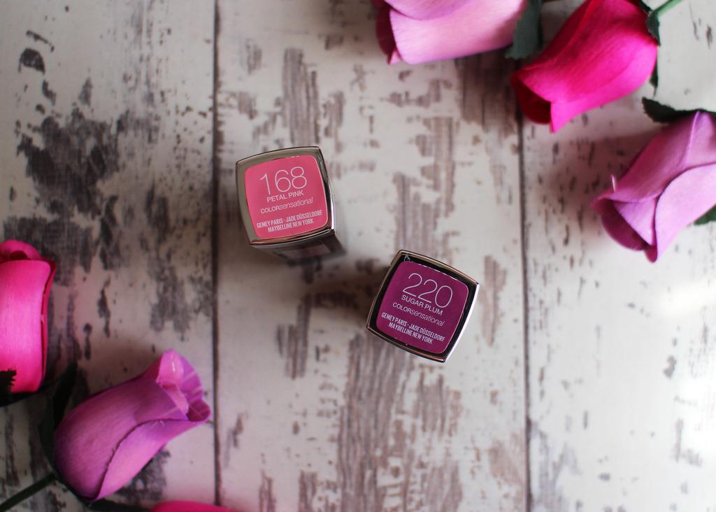 Maybelline Colour Sensational Lipsticks