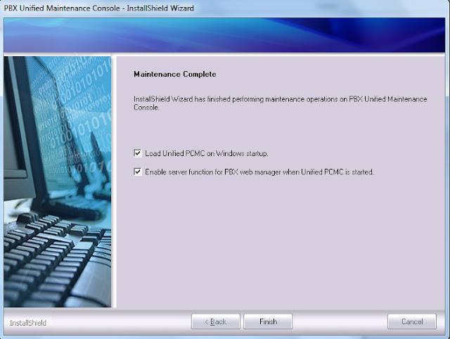 cara instal upcmc pabx panasonic, software upcmc pabx panasonic