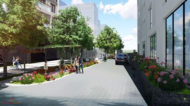 Không gian xung quanh dự án Riverside Garden