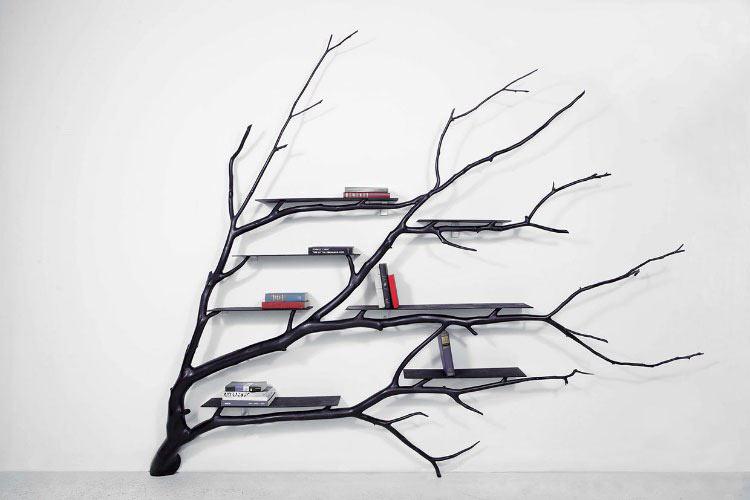 Artista transforma ramas caídas en preciosos mobiliarios