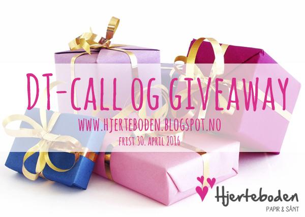 Hjerteboden DT-call og giveaway!