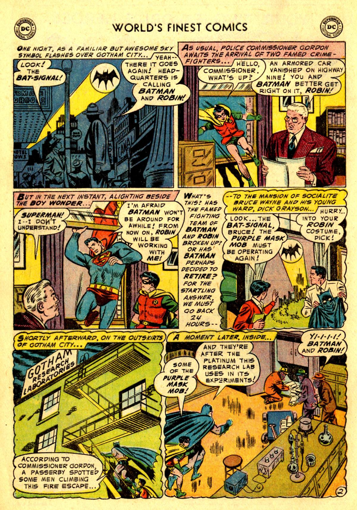 Read online World's Finest Comics comic -  Issue #75 - 4
